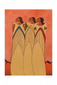maxine noel trinity limited edition print