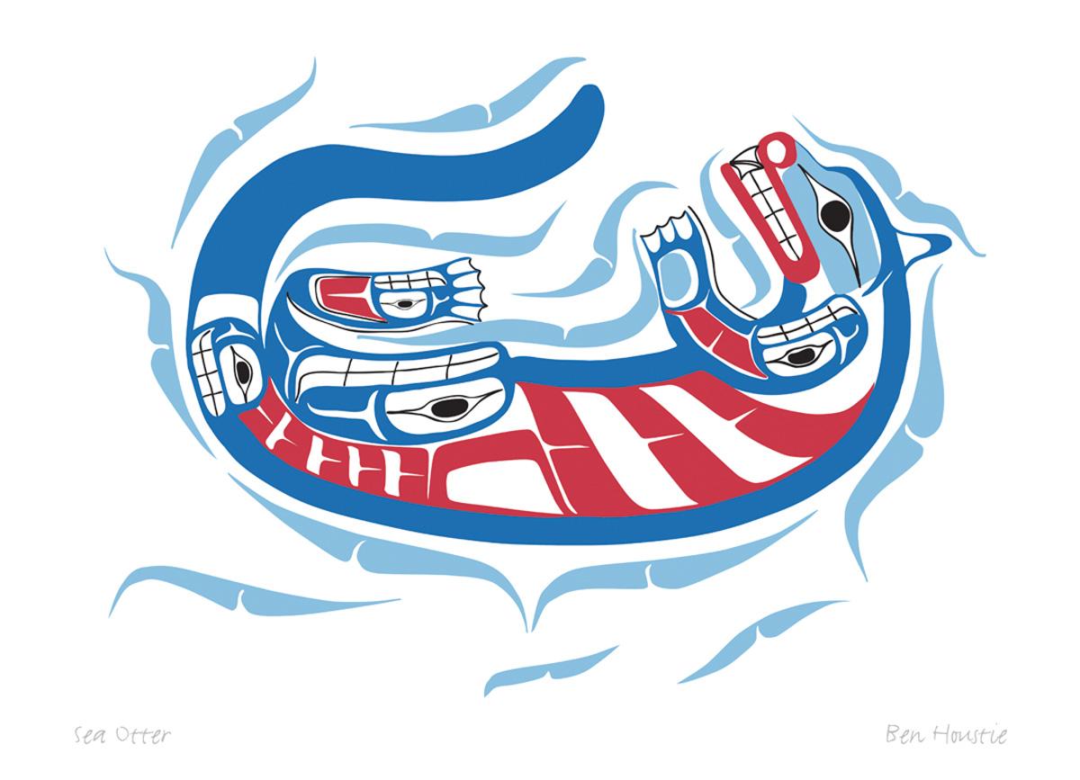 Sea Otter Pod733 Sa Cinn Native Enterprises