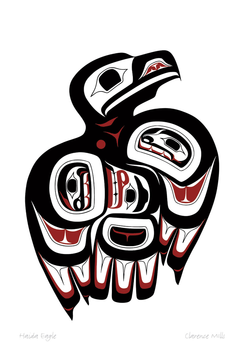 Haida Eagle Pod782 Sa Cinn Native Enterprises