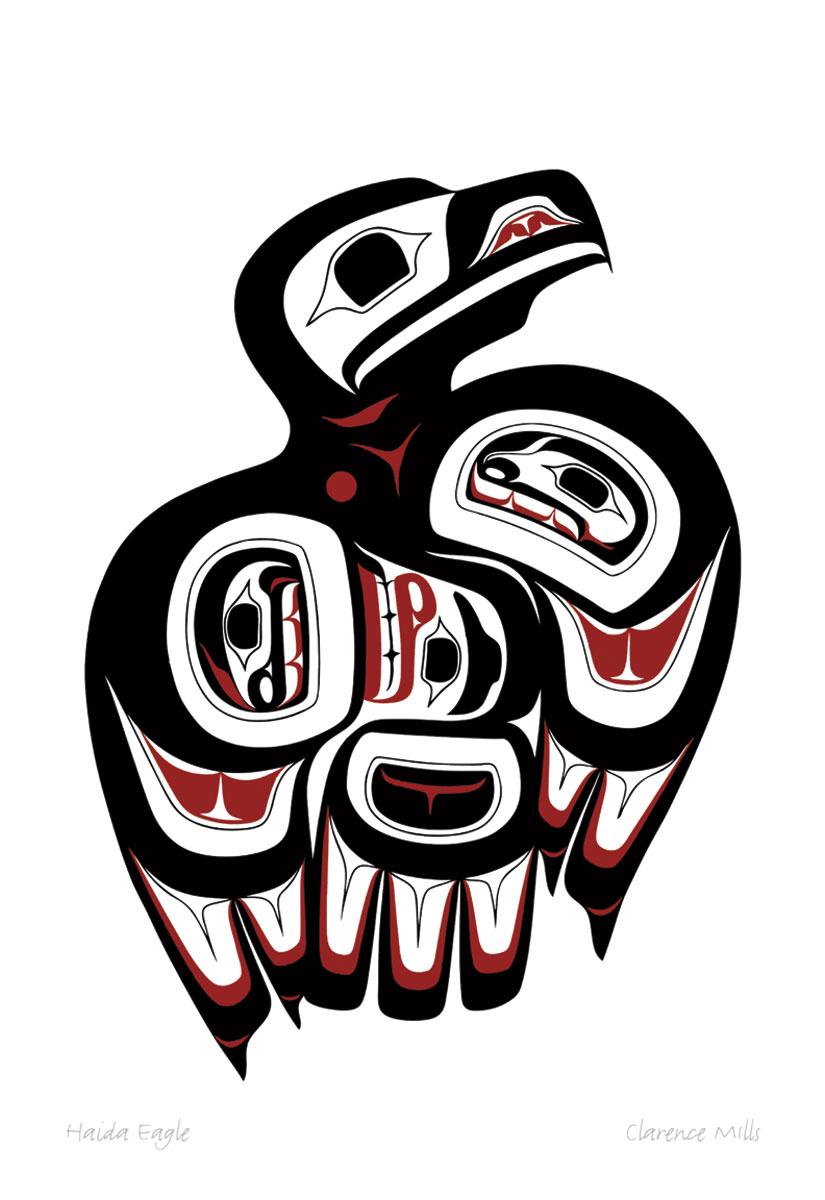 Haida Eagle Pod782 Sa Cinn Native Enterprises