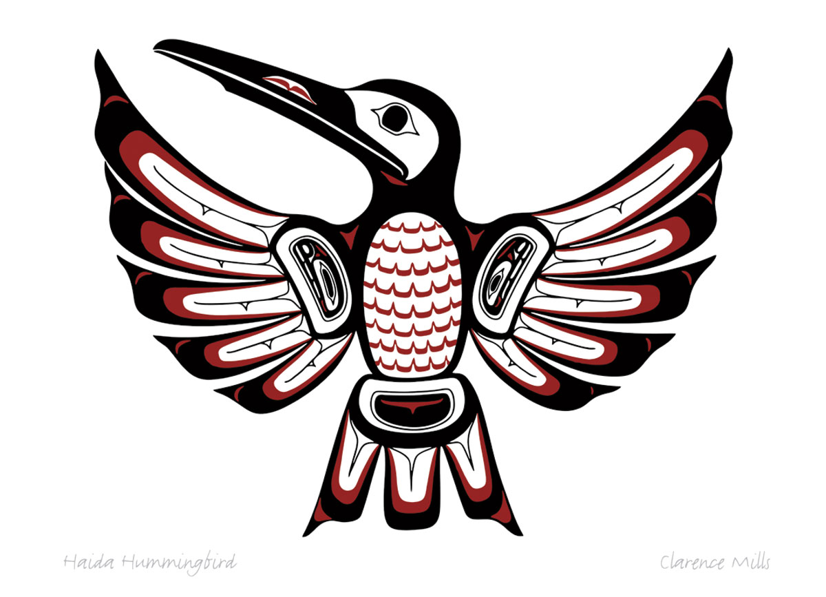 haida hummingbird pod783 sacinn native enterprises