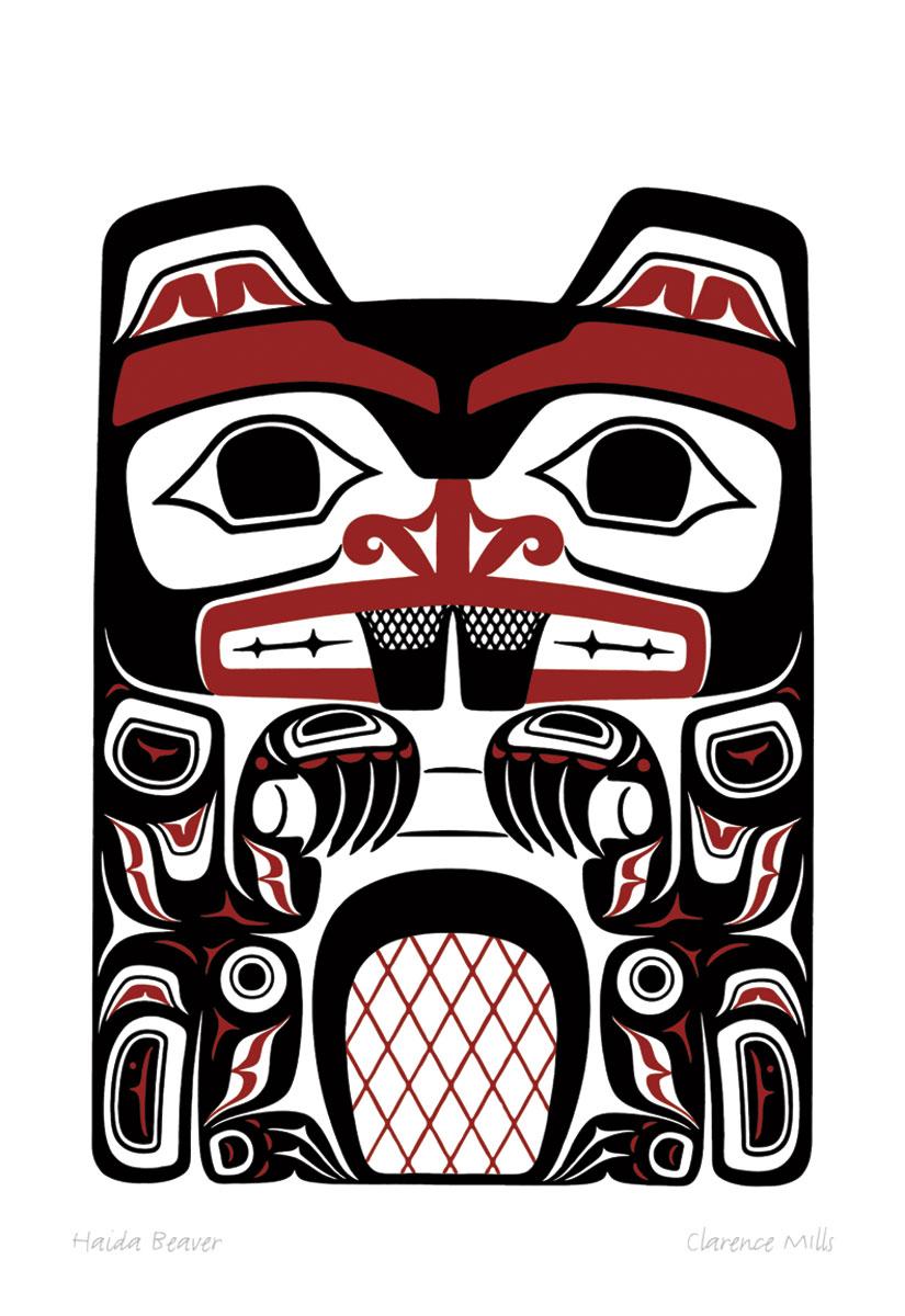 Haida Beaver Pod791 Sa Cinn Native Enterprises