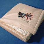 israel shotridge raven alpaca throw