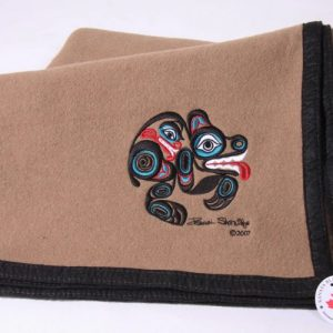 israel shotridge bear trail blanket